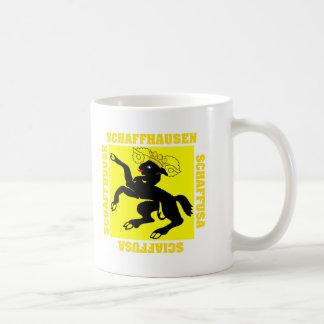 Schaffhausen Switzerland Canton Flag Coffee Mug