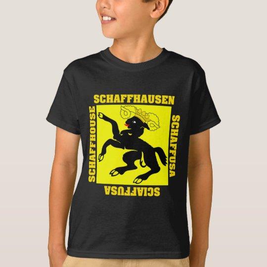 Schaffhausen Switzerland Canton Flag T-Shirt