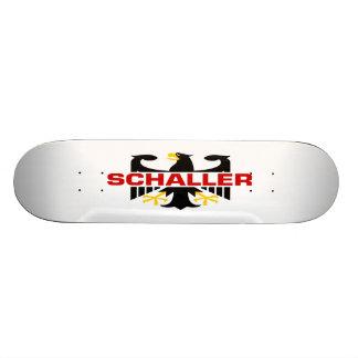 Schaller Surname Custom Skate Board