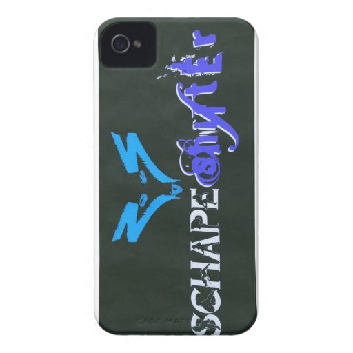 Schape Shifter Kustoms Case-Mate iPhone 4 Cases