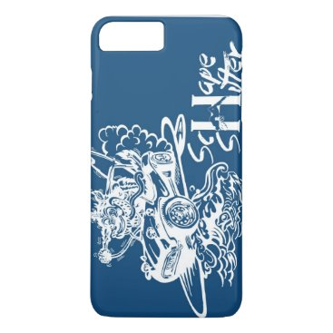 Beach Themed Schape Shifter Kustoms iPhone 7 Plus Case