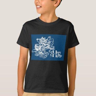 Beach Themed Schape Shifter Kustoms T-Shirt