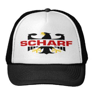 Scharf Surname Mesh Hats