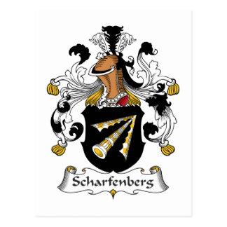 Scharfenberg Family Crest Postcard