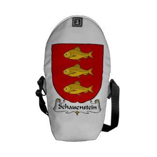 Schauenstein Family Crest Courier Bags