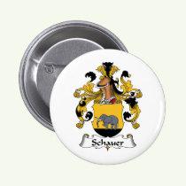 Schauer Family Crest Button