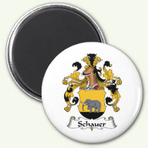 Schauer Family Crest Magnet