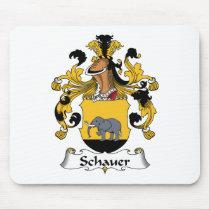 Schauer Family Crest Mousepad