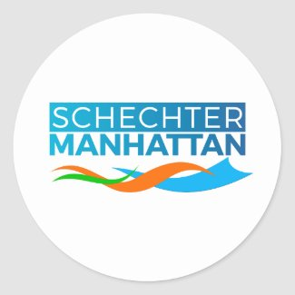 Schechter Manhattan Stickers
