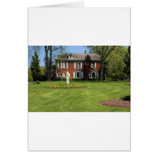 Schedel Gardens and Arboretum Manor House Card