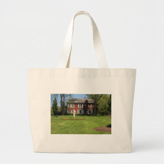 Schedel Gardens and Arboretum Manor House Large Tote Bag