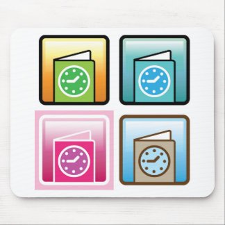 Schedule Icon Mouse Pad