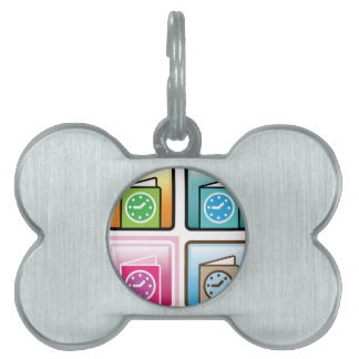 Schedule Icon Pet ID Tag