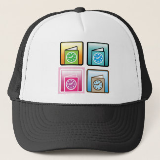 Schedule Icon Trucker Hat