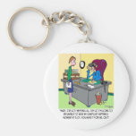 Scheduled Happiness Minute Key Chain