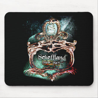 Scheffland Mouse Pad Tiger Black