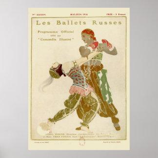 Schéhérazade, Léon Bakst & the Ballets Russes Poster