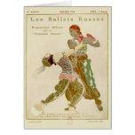 Schéhérazade, Léon Bakst y los ballets Russes Tarjeta De Felicitación