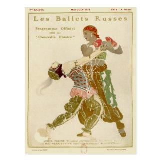 Schéhérazade, Léon Bakst y los ballets Russes Postales