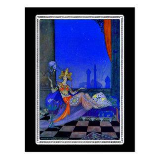 Scheherazade Postcard