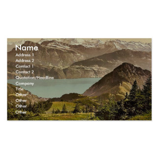 Scheidegg, with Gersau and Vitznauer Stock, Rigi, Double-Sided Standard Business Cards (Pack Of 100)
