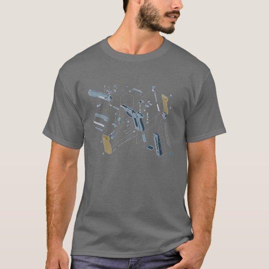 schematic gun T-Shirt