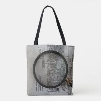 Schematic homebrew 1 tote bag
