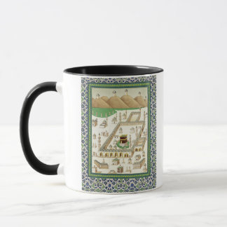 Schematic View of Mecca, showing the Qua'bah, from Mug