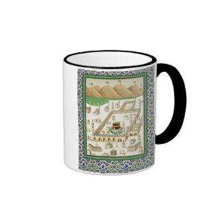 Schematic View of Mecca, showing the Qua'bah, from Ringer Coffee Mug