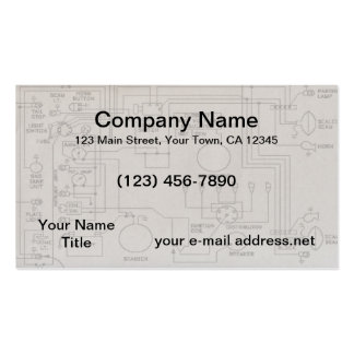 Schematics Double-Sided Standard Business Cards (Pack Of 100)