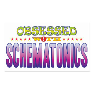 Schematonics 2 Obsessed Pack Of Standard Business Cards