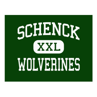 Schenck - Wolverines - High - East Millinocket Postcard
