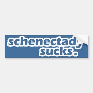 Schenectady Sucks. Bumper Sticker