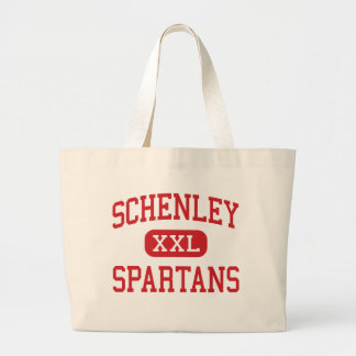 Schenley - Spartans - High - Pittsburgh Large Tote Bag