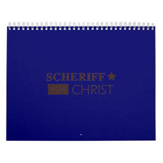scheriffforChrist002sm Calendar