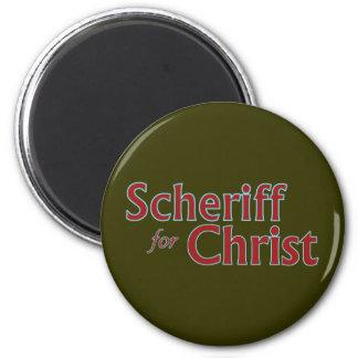 scheriffforChrist003 Magnet