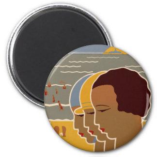 Scheveningen 2 Inch Round Magnet