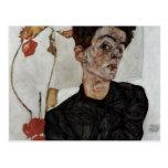 schiele 079 de Egon Postales