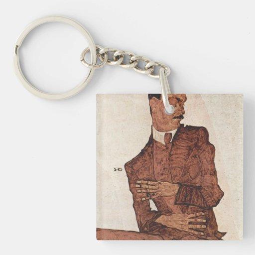 Schiele Art Keychains