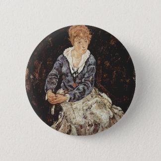 Schiele Art Pinback Button