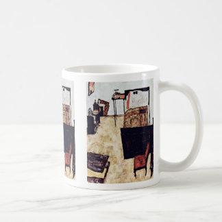 Schiele Living In Neulengbach By Schiele Egon Mug