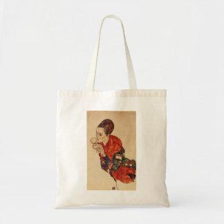 Schiele-Retrato de Egon de la actriz Marga Boerner Bolsas