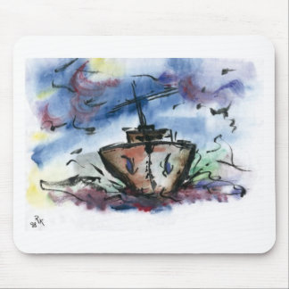 Schiff Mouse Pad