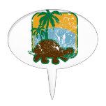 Schildkröte Decoración Para Tarta