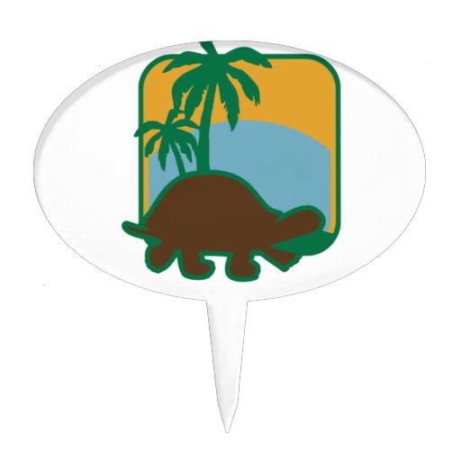 Schildkröte Figuras De Tarta