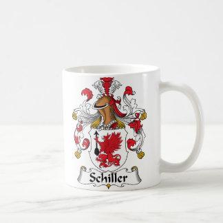 Schiller Family Crest Coffee Mug