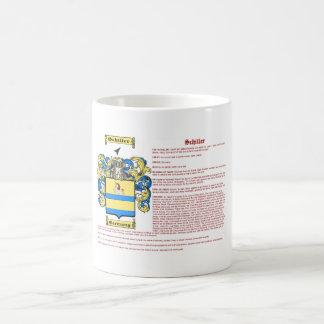 Schiller (meaning) coffee mug