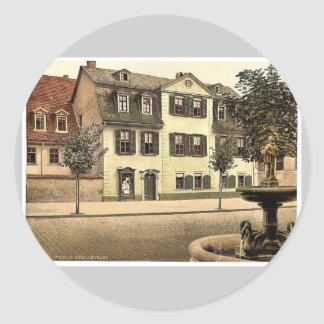 Schiller s House Weimar Thuringia Germany rare Stickers