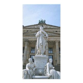 Schiller Statue in Berlin Card