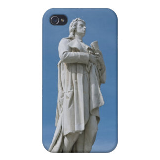 Schiller Statue in Berlin iPhone 4/4S Cases